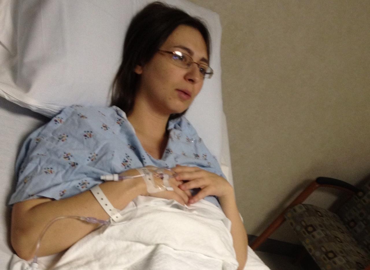 Alicia's Surgery Day