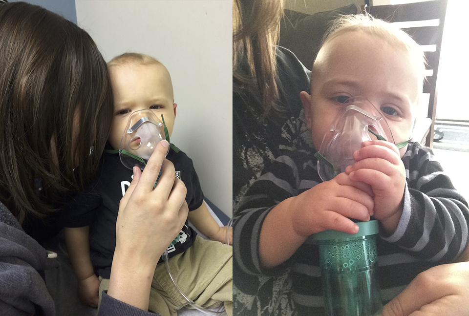 Both boys ended up getting RSV
