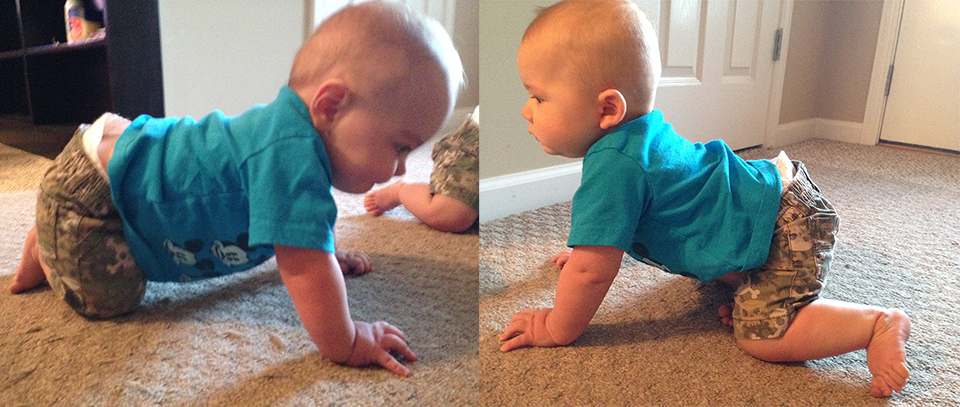 The Boys Started Crawling