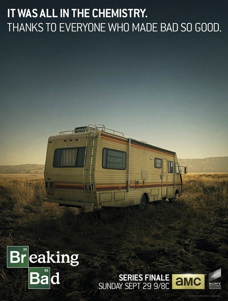 Said goodbye to Breaking Bad